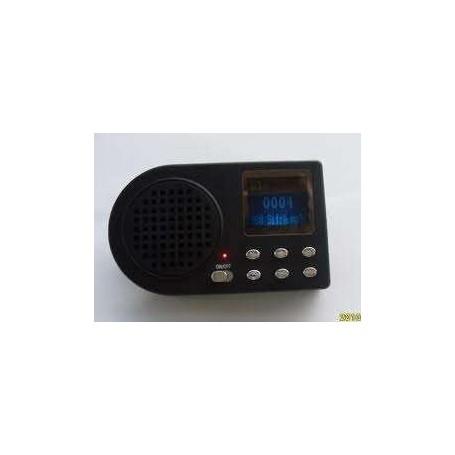 Reproductor electronico recargable