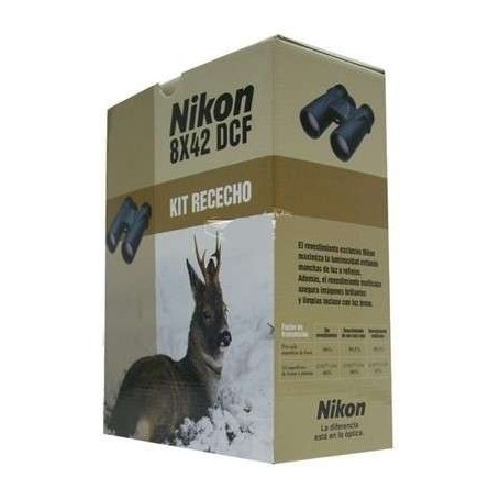 Kit Rececho Nikon Monarch 8x42 DCF