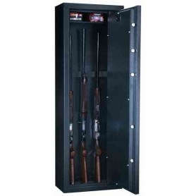 Armero madera INFAC 6 armas largas y estante