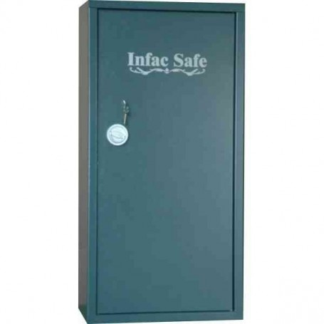 Armero INFAC 16 armas/estante superior/tapizado interior