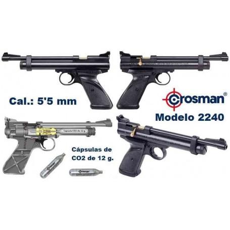 Pistola Crosman 2240 CO2