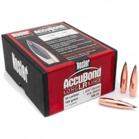 Puntas Nosler Accubond Long Range calibre.308 - 190 grains
