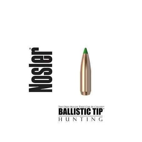 Puntas Nosler Ballistic Tip calibre.308 - 180 grains