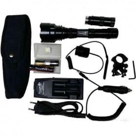 Kit linterna Trustfire 1200 lumenes 1 MODO+ accesorios de regalo