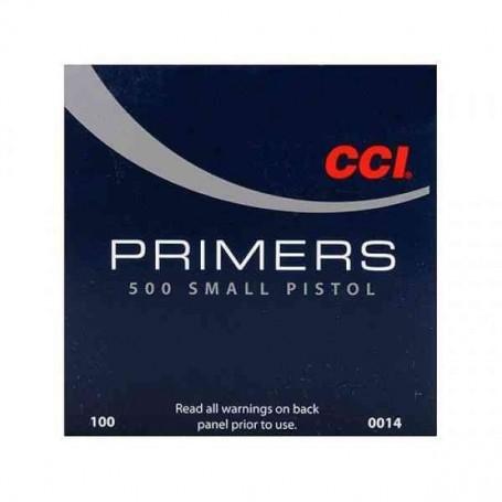 Pistones CCI small pistol 500 ( 100uds.)