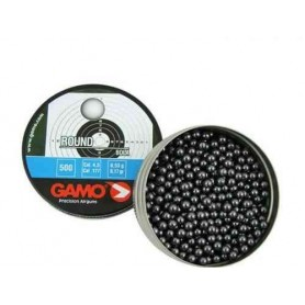Balines Gamo Round bola cal. 4.5 (500 und)