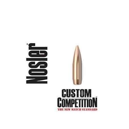 Puntas Nosler Custom Competition HPBT calibre.308 - 175 grains