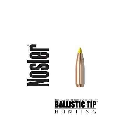 Puntas Nosler Ballistic Tip calibre.277 (6.8mm) - 130 grains