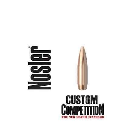 Puntas Nosler Custom Competition HPBT calibre.308 - 168 grains