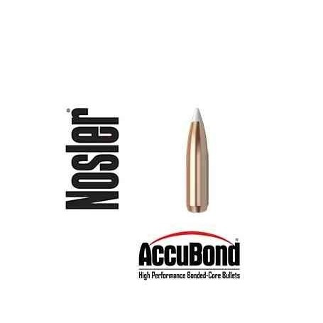 Puntas Nosler Accubond calibre.277 (6.8mm) - 140 grains