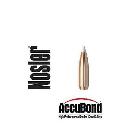 Puntas Nosler Accubond calibre.308 - 165 grains