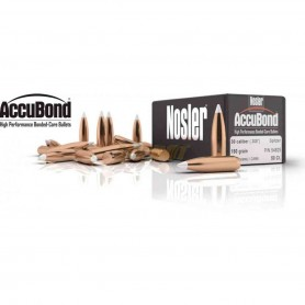 Puntas Nosler Accubond calibre.308 - 180 grains