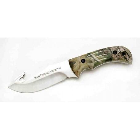 Cuchillo Muela Camo Realtree Bisonte 11