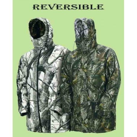 Chaqueton soft-Shell reversible camu 3D/ Camu snow