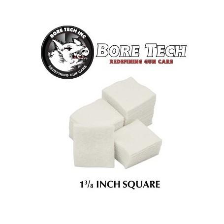 """1000 Parches algodon 1-3/8"""" Boretech"""