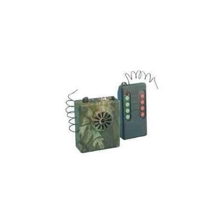 Reclamo Bird Sound 8 cantos con mando a distancia o sin el