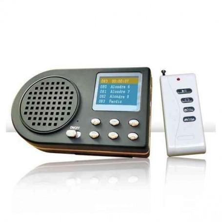 Reproductor electrónico con mando