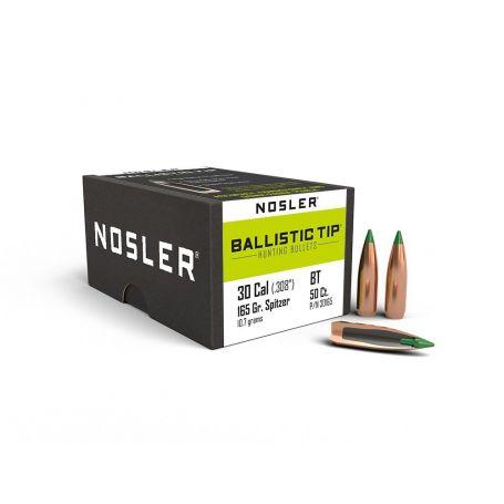 Puntas Nosler Ballistic Tip Hunting cal. .308 - 165gr