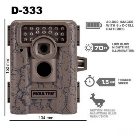 Camara espia Moultrie D-333