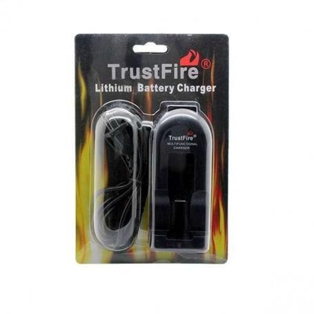 Cargador una bateria litio original Trustfire