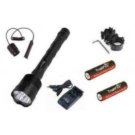 Kit linterna Trustfire 3800 lumenes 5 modos de encendido +