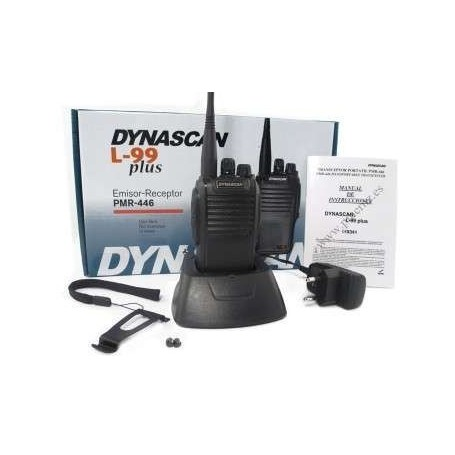 Emisora Dynascan L 99 Plus + pinganillo