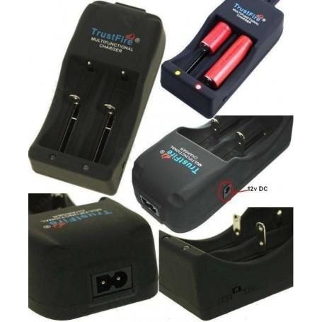 Cargador baterias litio original Trustfire