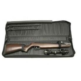 Porta-arma Venator en vaqueta con pieza para superpuesta sin anilla.