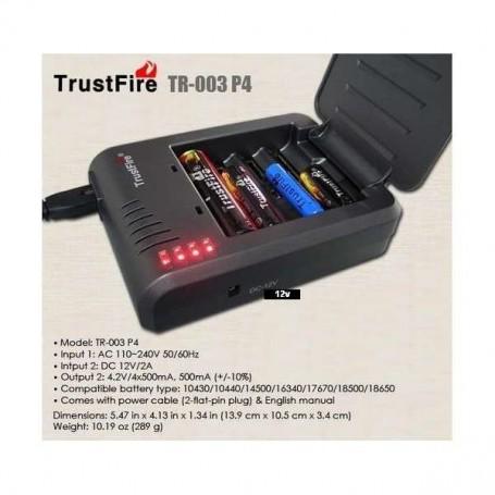 Multi cargador Trustfire TR-003