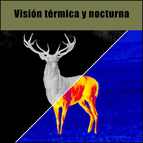 visión térmica y nocturna